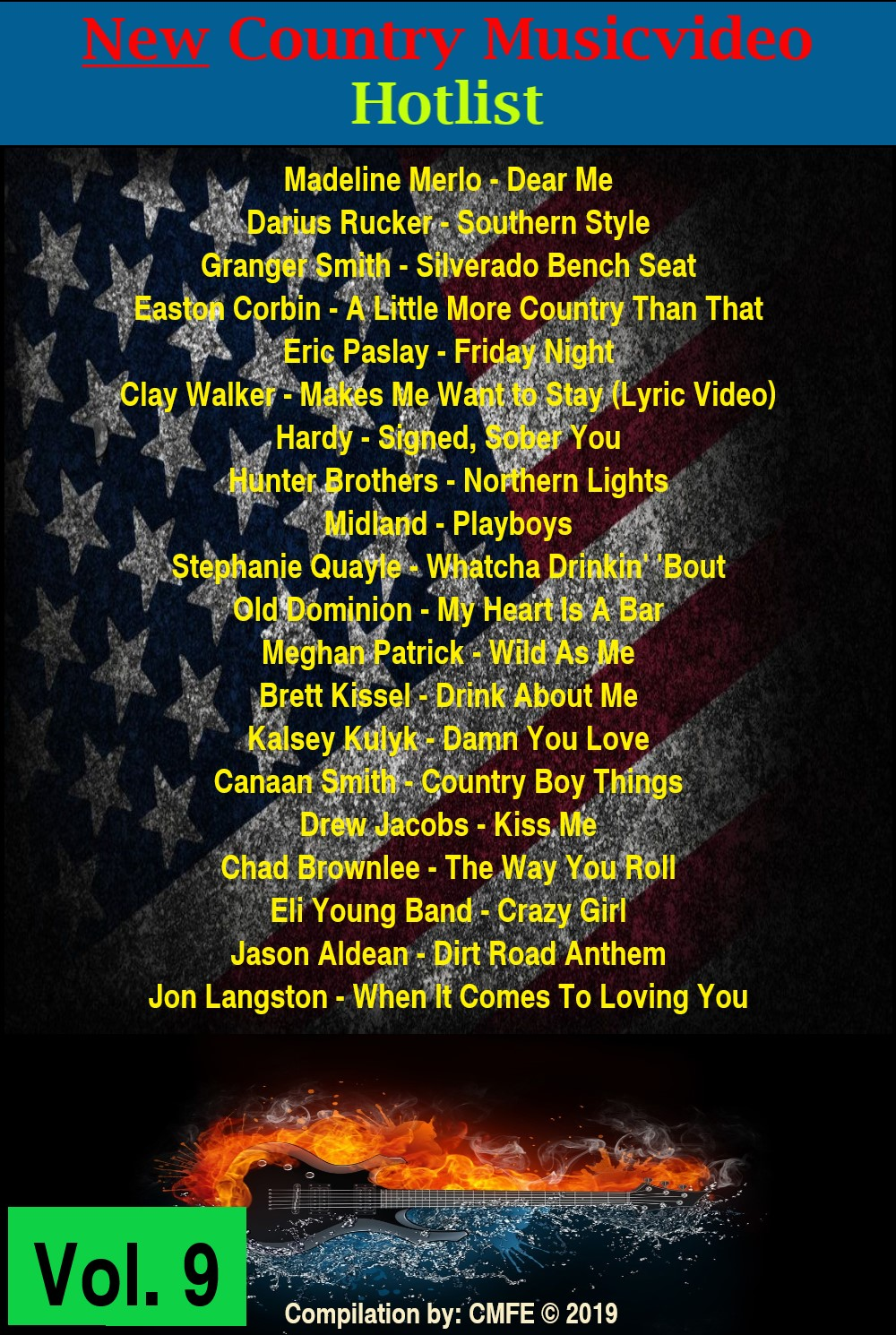 (New!) Country Musicvideo Hotlist Vol. 9