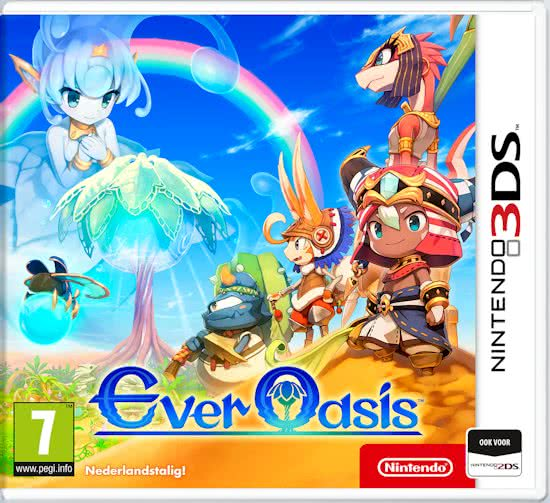 [3DS] Ever oasis - Nederlandstalig