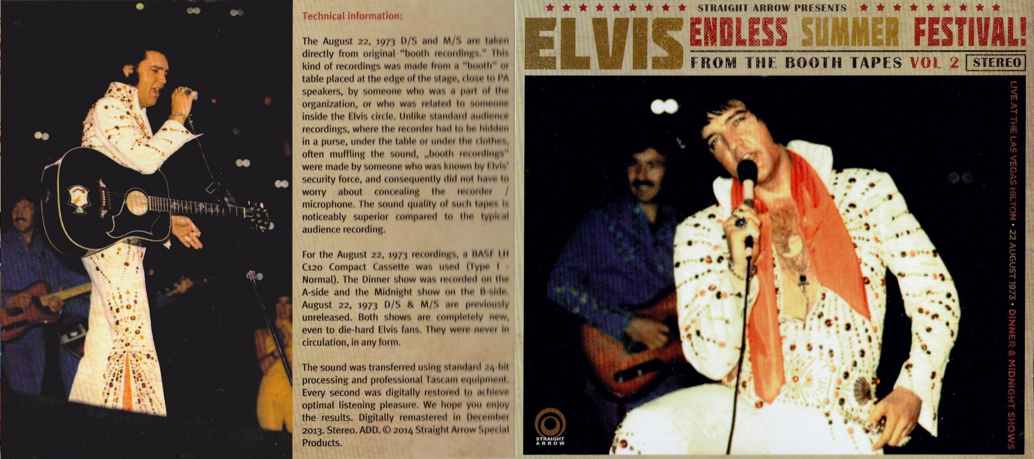 Elvis Presley - Endless Summer Festival !, 08-22-1973 (2 CD-set)